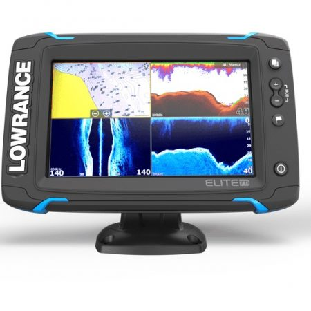 LOWRANCE ELITE 7 TI MID HIGH TOTAL SCAN NZ CHART