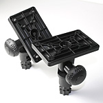 RAILBLAZA ADJUSTABLE PLATFORM MOUNT BLACK