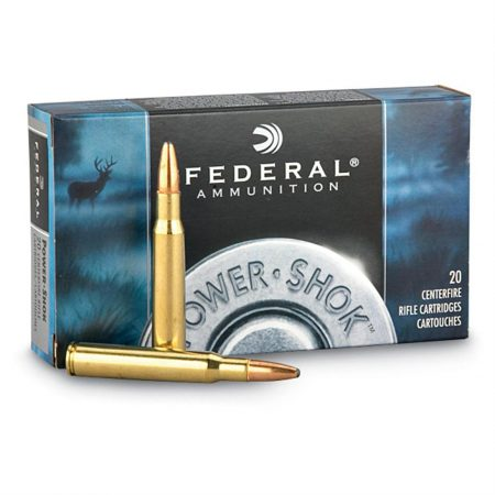 FEDERAL .270WIN 150GR POWER-SHOK SOFT PT RD NOSE