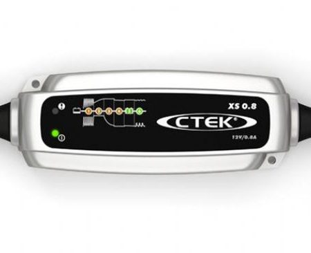CTEK XS 0.8 12V 0.8A 6 STAGE CHARGER