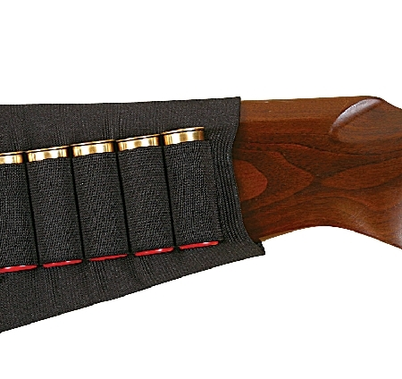 ALLEN BUTTSTOCK HOLDER 5 SHOT SHELLS