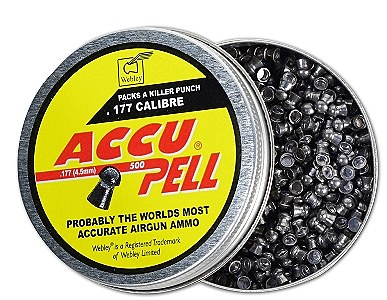 ACCUPELL .177 DOMED X 500 PELLETS