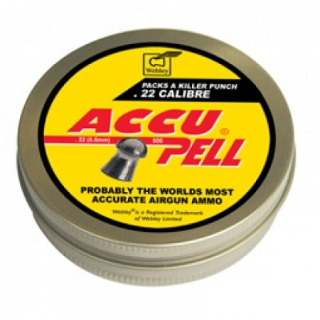 ACCUPELL .22 DOMED X 500 PELLETS