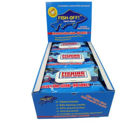 FISH OFF HAND WIPES