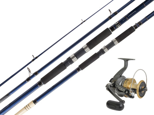 DAIWA CROSSCAST 6000 & PROCYON PC1303 SURF SET