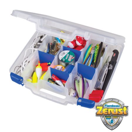 FLAMBEAU TUFF TAINER SATCHEL ZERUST 5 COMPARTMENTS