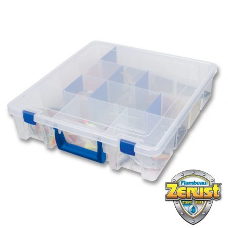 FLAMBEAU TUFF TAINER SATCHEL ZERUST 6 COMPARTMENTS