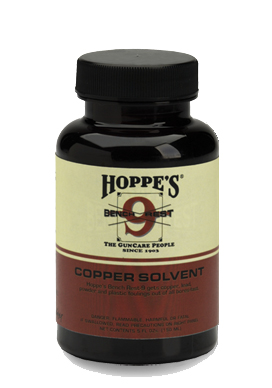 HOPPES BENCH REST COPPER SOLVENT 5 OZ