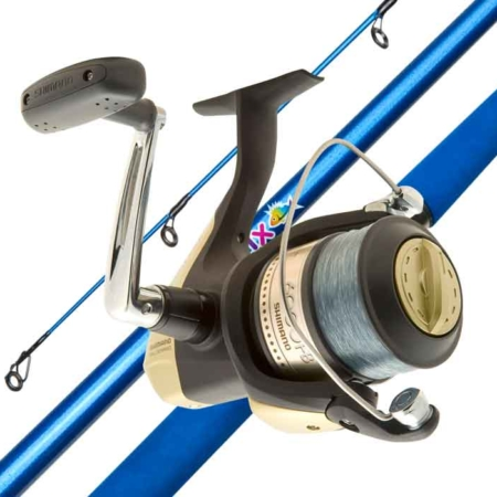 SHIMANO HYPERLOOP 6000 & KIDSTIX BLUE 8-12KG 6FT