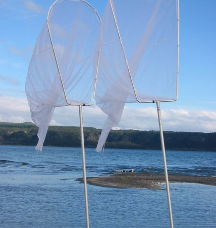 NACSAN WHITEBAIT NET 3.1M SCOOP WITH TRAP