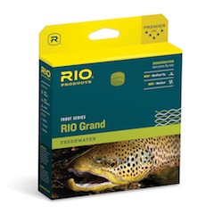 RIO GRAND WF FLOATING CAMO FLY LINE
