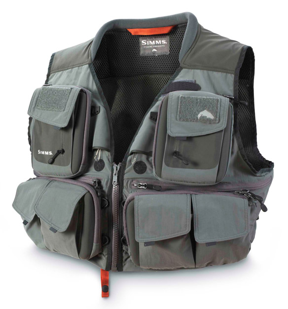 SIMMS G3 GUIDE VEST GUNMETAL LARGE