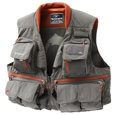 SIMMS GUIDE VEST LARGE