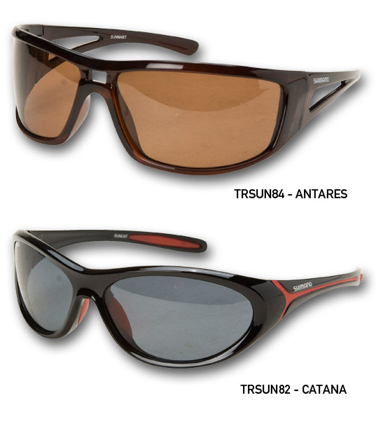 SHIMANO SUNNIES CATANA  BLACK RED SMOKE LENS