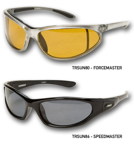 SHIMANO SUNNIES SPEEDMASTER  BLACK SMOKE LENS