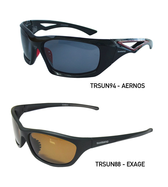 SHIMANO SUNNIES EXAGE  GREEN AMBER LENS