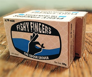 FISHY FINGERS FISHING SOAP