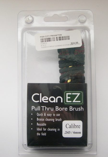 CLEAN E Z RIFLE CLEANING SYSTEM 6MM/.243 CAL