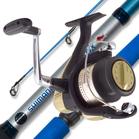 SHIMANO HYPERLOOP 4000 & KIDSTIX  BLUE 4-8KG 5FT