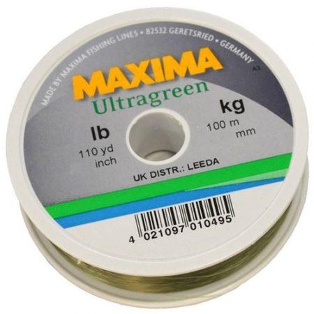 MAXIMA U/GREEN 100M 10LB